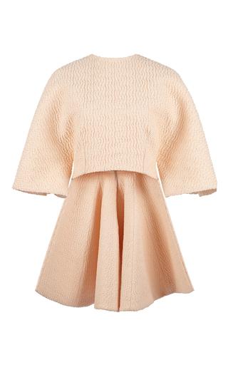 Wool jacquard vree top by EMILIA WICKSTEAD Now Available on Moda Operandi