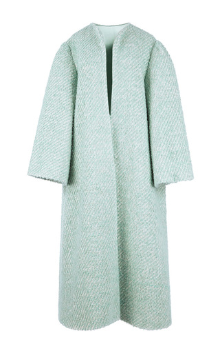 Wool, Cashmere And Mohair Blend Bouclé Helena Coat by EMILIA WICKSTEAD Now Available on Moda Operandi