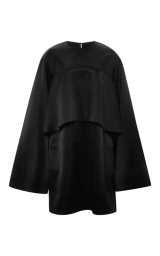 Black Dandelion Flared Sleeve Dress  by ELLERY Now Available on Moda Operandi