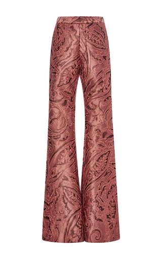 Radical satin brocade bootleg pants by ELLERY Now Available on Moda Operandi