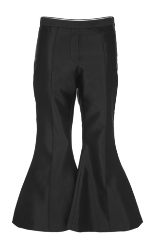 Wally Silk Wool Cropped Flared Pants by ELLERY Now Available on Moda Operandi