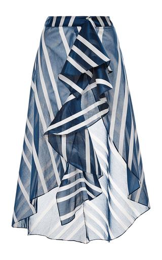silk printed san sebastian skirt by JOHANNA ORTIZ Available Now on Moda Operandi