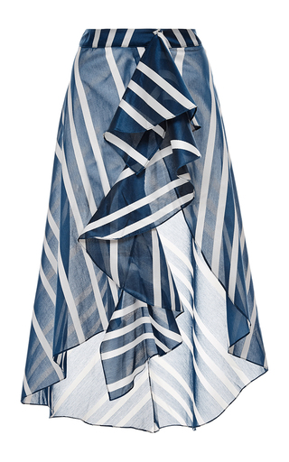 silk printed san sebastian skirt by JOHANNA ORTIZ Now Available on Moda Operandi