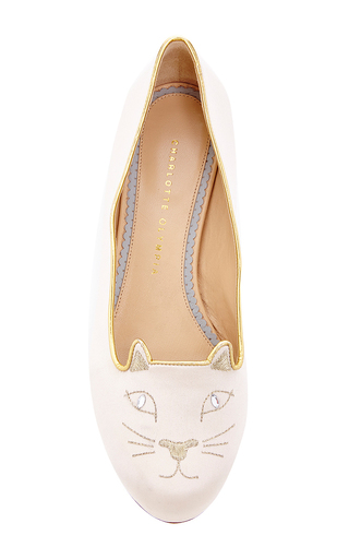 Charlotte olympia kitty flats by CHARLOTTE OLYMPIA Preorder Now on Moda Operandi