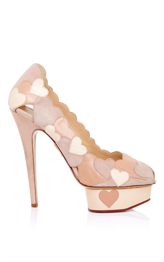 Charlotte olympia love me pump  by CHARLOTTE OLYMPIA Preorder Now on Moda Operandi