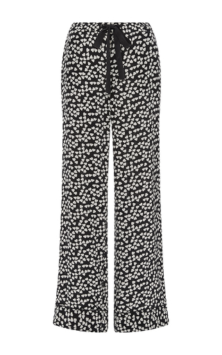 Silk Printed Avery Pajama Pants by EQUIPMENT Now Available on Moda Operandi
