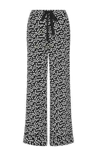 Silk Printed Avery Pajama Pants by EQUIPMENT Now Available on Moda Operandi
