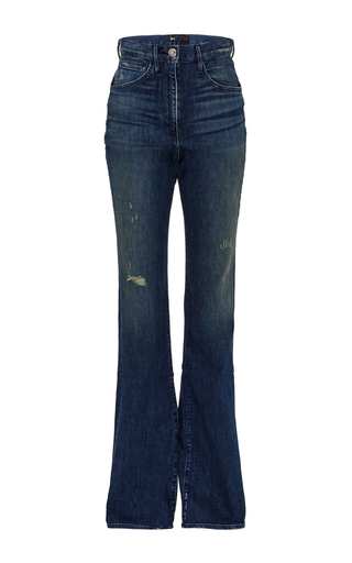 Super High Rise Boot Cut Jeans by 3X1 Now Available on Moda Operandi
