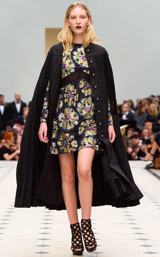 61dd2db8e3f look 10   BURBERRY PRORSUM Long Camisole Dress In Silk Crepe Satin