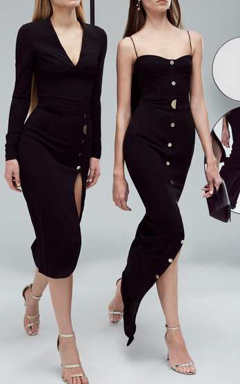 9093548c62 The designers  Carly Cushnie and Michelle Ochs won over countless women  with form-fitting silhouettes (in signature stretch fabric) that reside on  the right ...