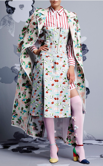 Thom Browne Resort 2015 Look 1 on Moda Operandi