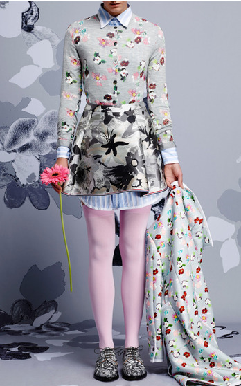 Thom Browne Resort 2015 Look 3 on Moda Operandi