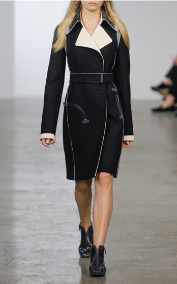 Calvin Klein Collection Resort 2015 Look 1 on Moda Operandi