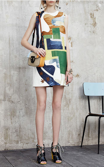 MSGM Resort 2016 Look 3 on Moda Operandi
