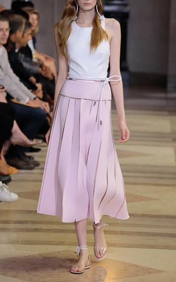 4d4781757 Shop Looks. Shop Products. Carolina HerreraIllusion Seam Dress