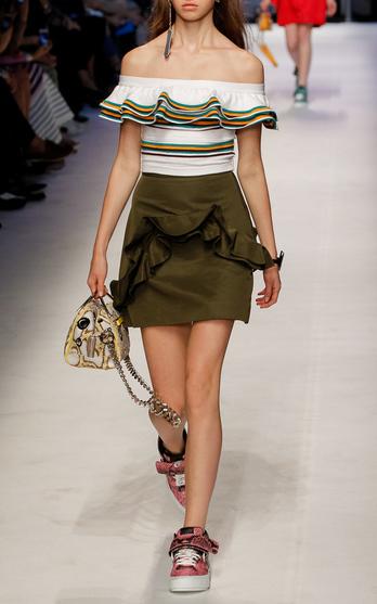 MSGM Spring Summer 2016 Look 12 on Moda Operandi