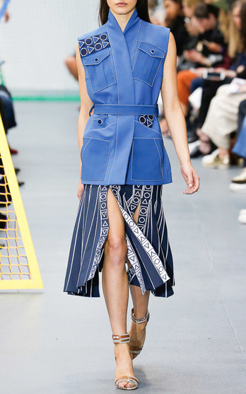 Peter Pilotto Spring Summer 2016 Look 1 on Moda Operandi