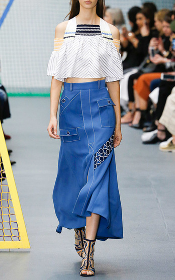 Peter Pilotto Spring Summer 2016 Look 3 on Moda Operandi