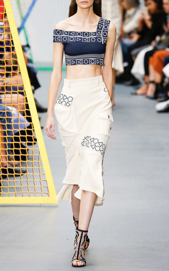 Peter Pilotto Spring Summer 2016 Look 5 on Moda Operandi