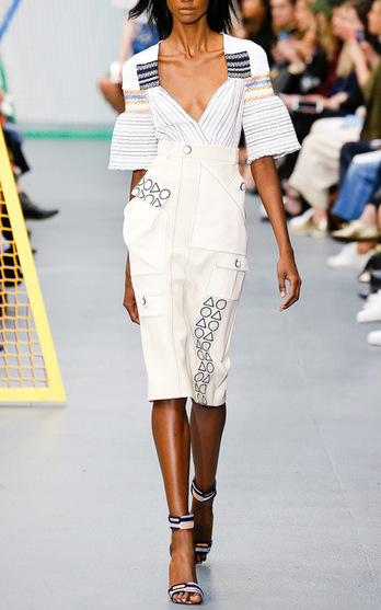 Peter Pilotto Spring Summer 2016 Look 7 on Moda Operandi