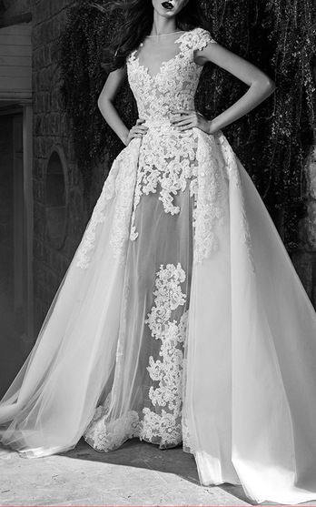 68c3b8cb10db ... gowns worn by the likes of Beyoncé and Taylor Swift delivers equally  stunning wedding dresses. His Fall 2016 collection spotlighted what Zuhair  Murad ...