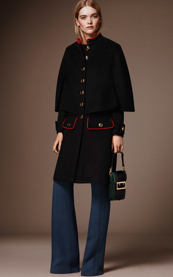 643ea9fe4f1 Christopher Bailey began this new chapter by reminiscing on the military  heritage at Burberry s core.