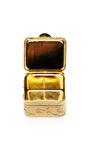 Vintage Italian Mosaic Pill Box by CAROLE TANENBAUM Now Available on Moda Operandi