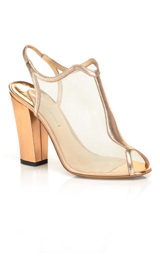 Medium nicholas kirkwood nude mesh open toe slingback shoe