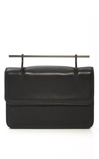 Medium m2malletier black black la fleur du mal bag