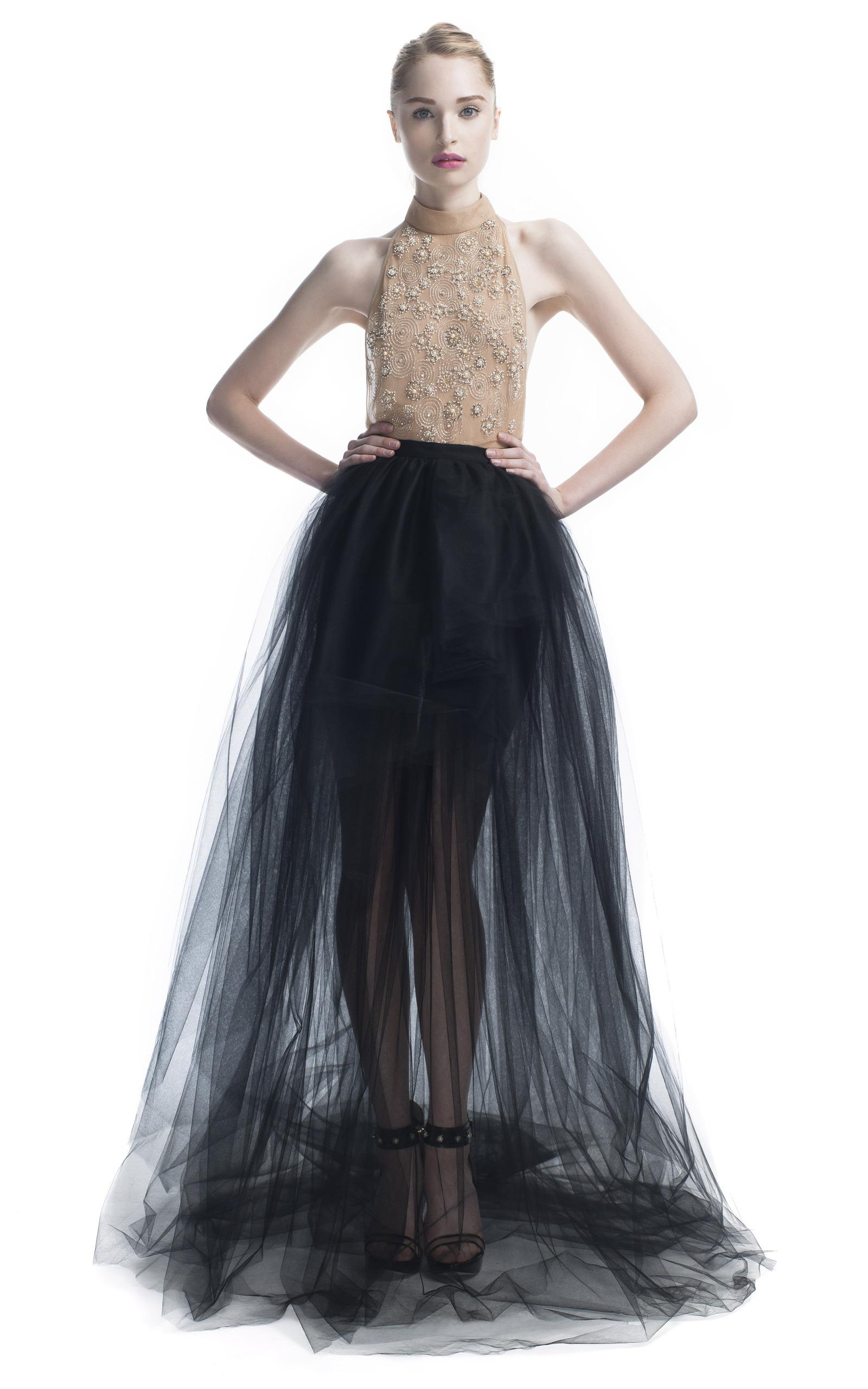 Tulle Skirt Beaded Halter Gown by Jason Wu | Moda Operandi