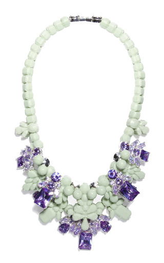 Medium ek thongprasert purple baltimore buzz necklace