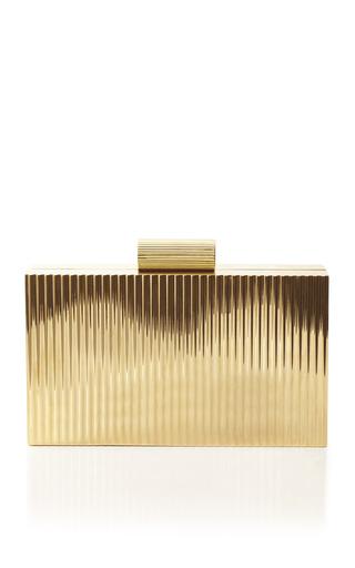 Medium charlotte olympia gold lipstick pandora clutch