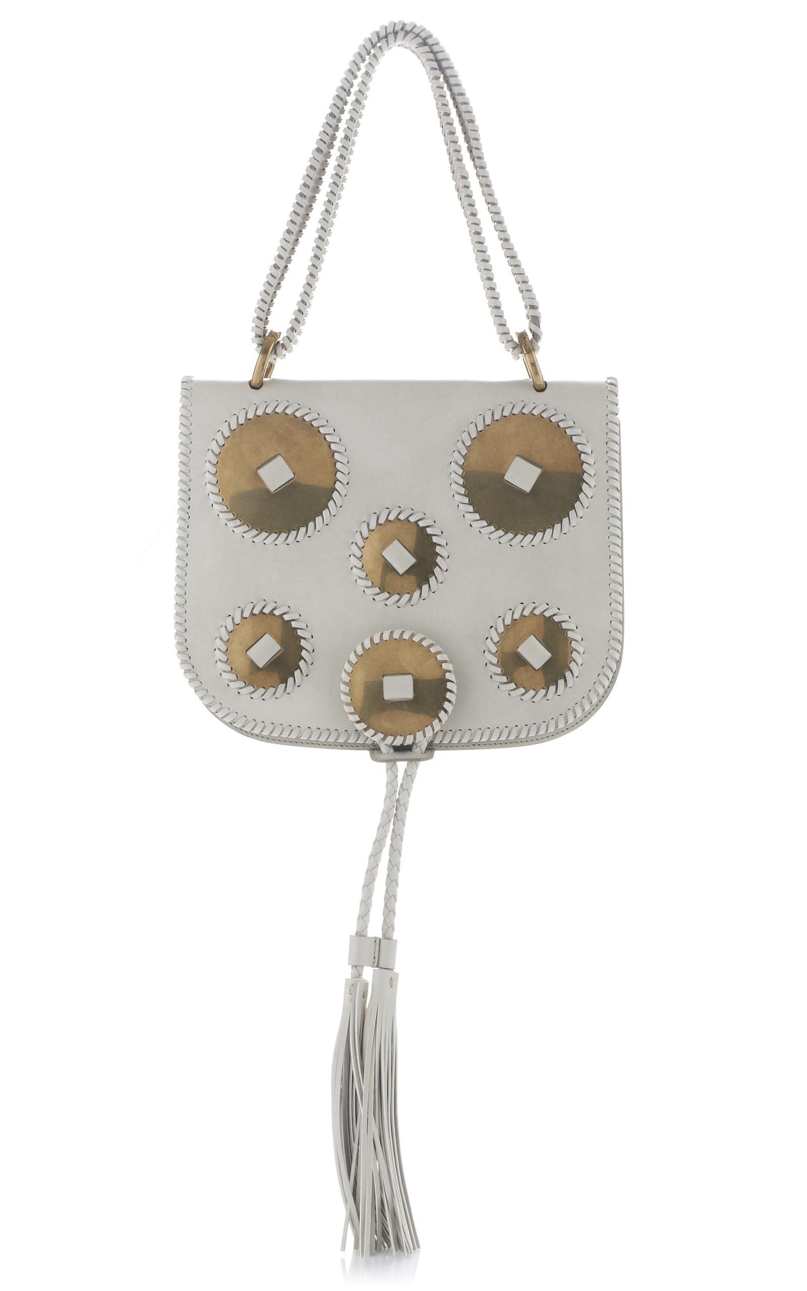633c1d224c White Kamelia Top Handle Handbag by Salvatore Ferragamo