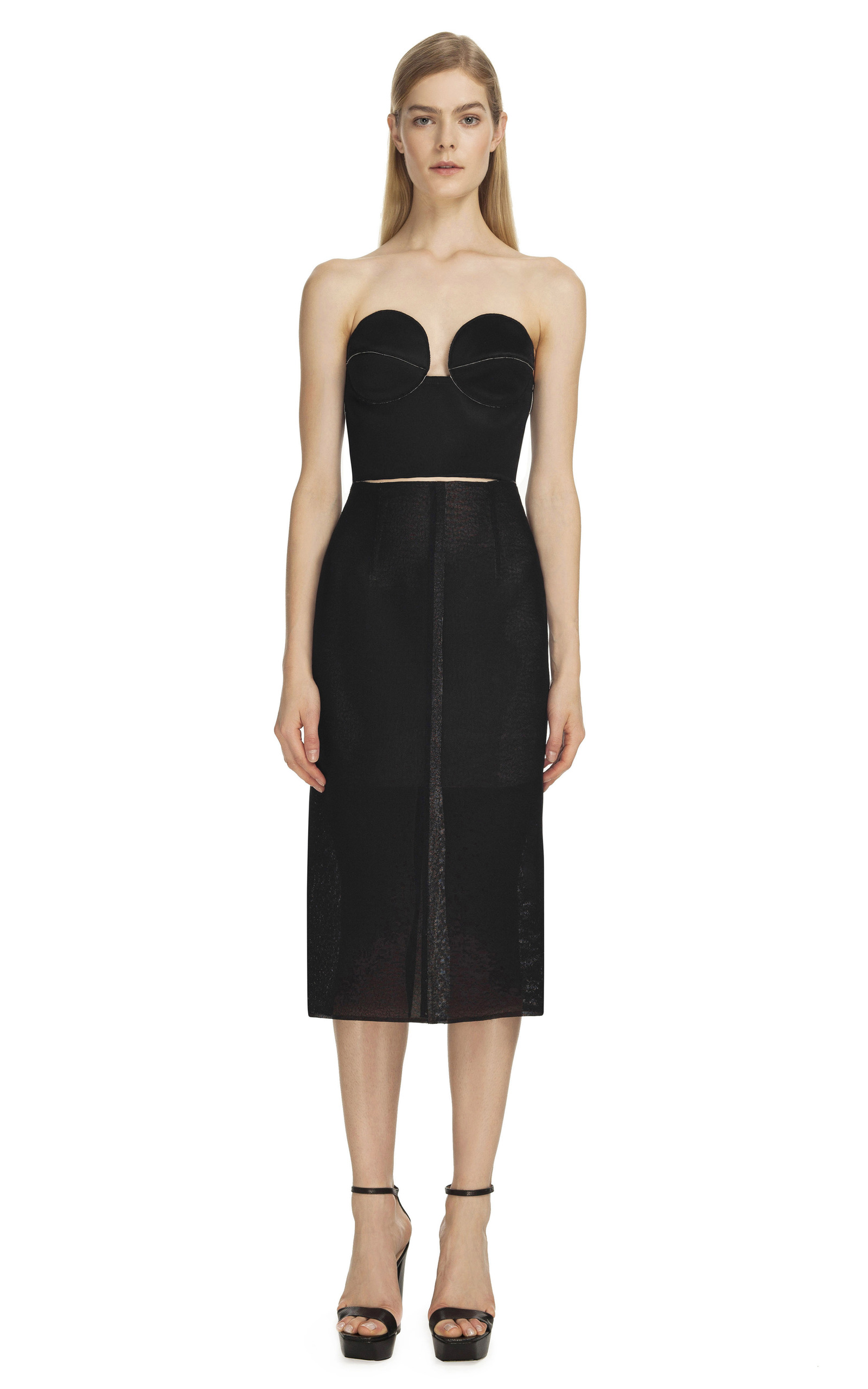 ss13 look 3 bustier by calvin klein collection moda operandi