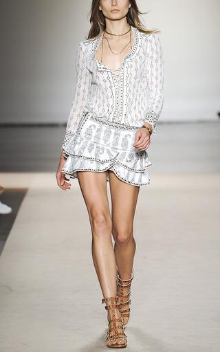 Bertille Skirt by ISABEL MARANT for Preorder on Moda Operandi