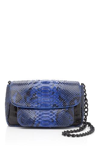Medium nancy gonzalez blue blue python envelope shoulder bag