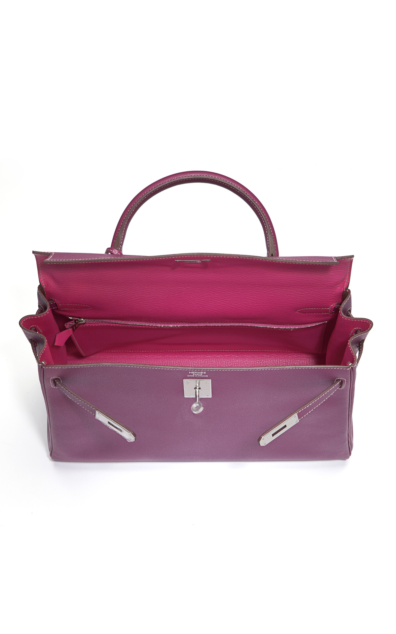 35cm Tosca  amp  Rose Tyrien Epsom Leather Kelly by  479a2c71eb6db