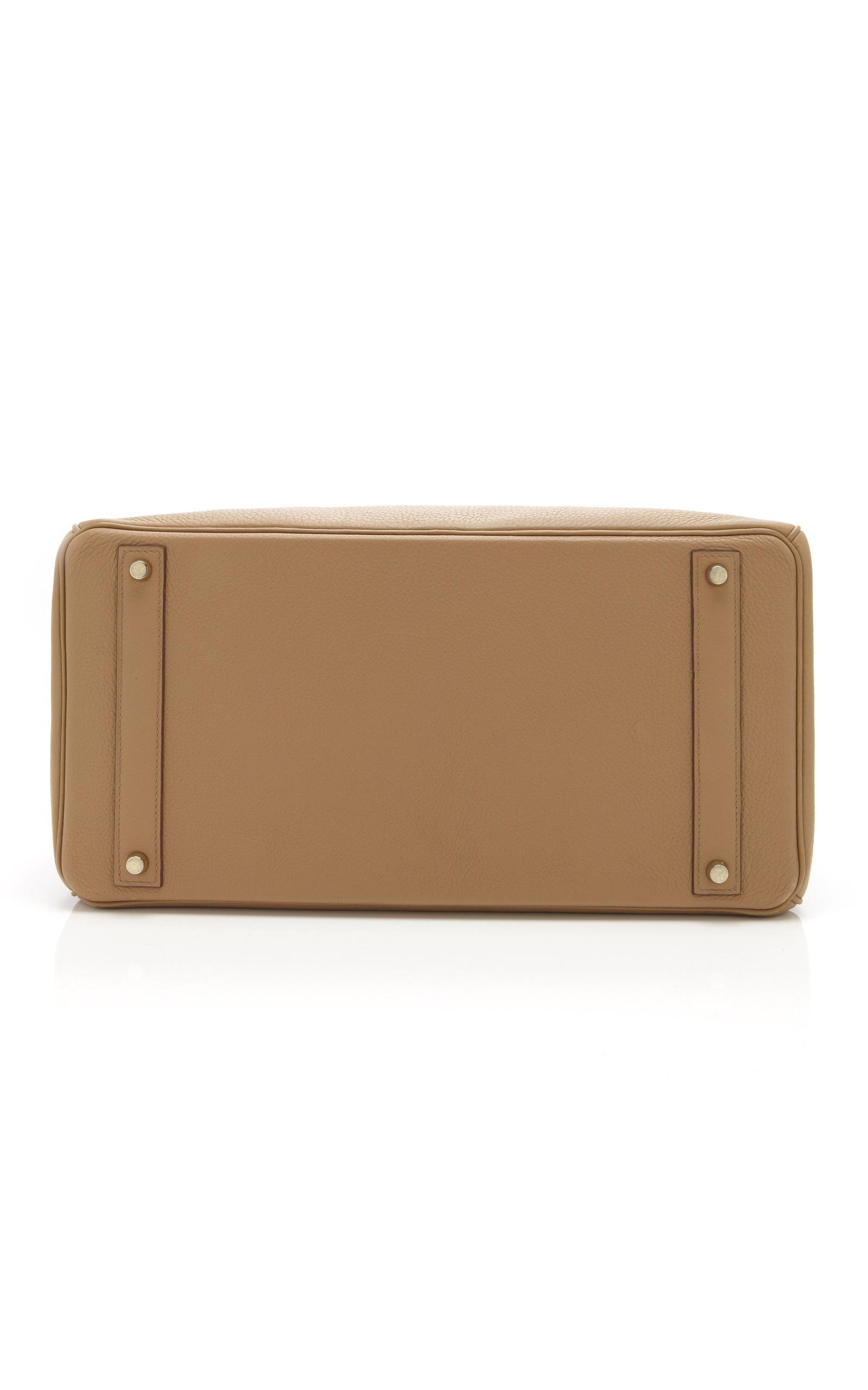 11b9ccc086 Hermes Vintage40cm Tabac Camel Clemence Leather Birkin. CLOSE. Loading.  Loading. Loading. Loading