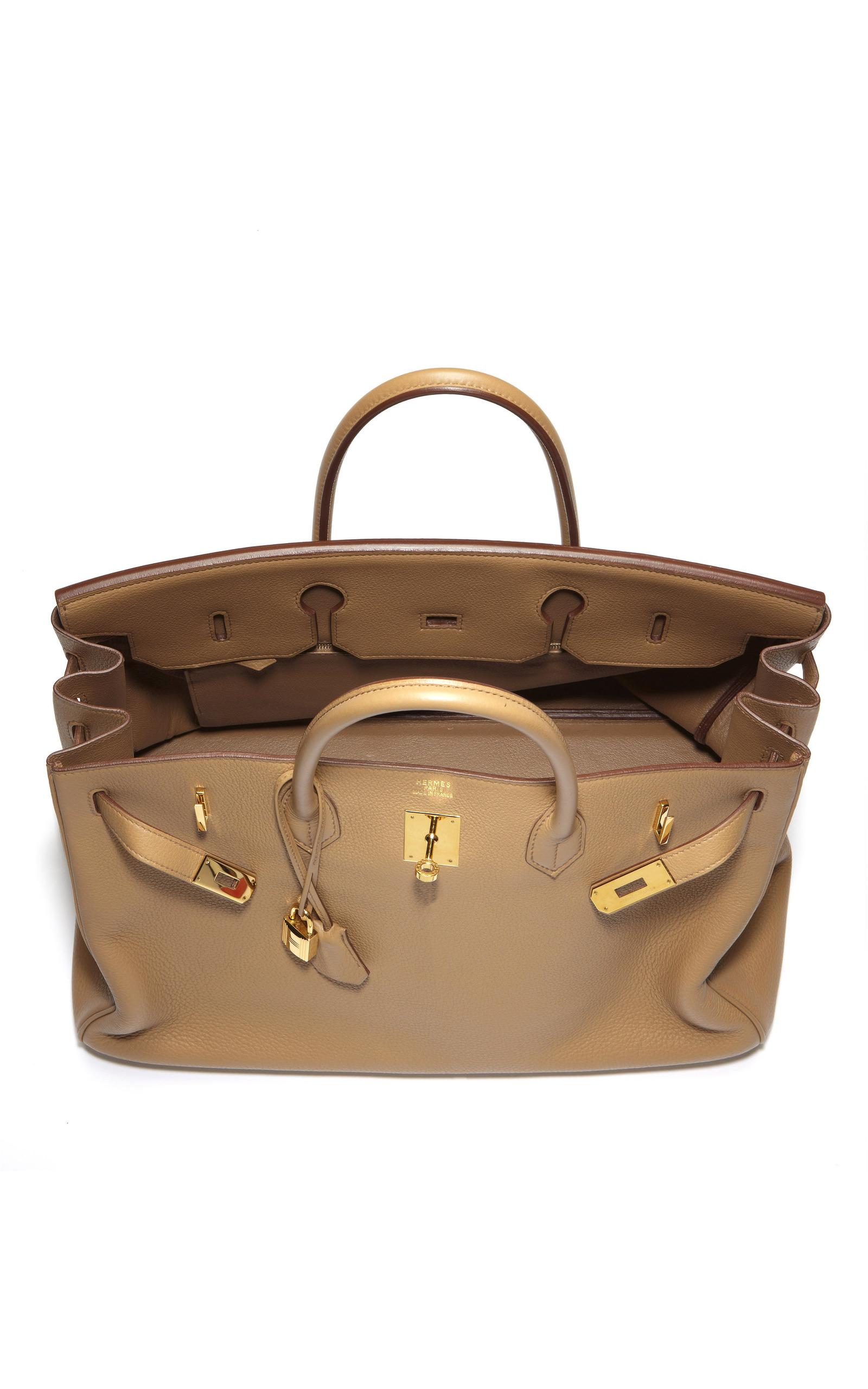 b32bc77d72 Hermes Vintage40cm Tabac Camel Clemence Leather Birkin. CLOSE. Loading.  Loading. Loading. Loading. Loading