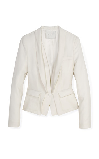 Medium a l c white harris blazer