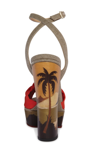 Bahia Sandal by CHARLOTTE OLYMPIA Now Available on Moda Operandi