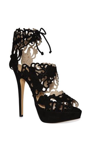 Medium charlotte olympia black belinda sandal