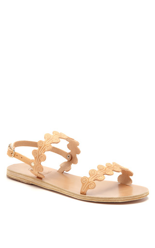Medium ancient greek sandals nude chloe leather sandals 2