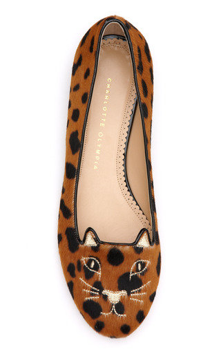 Kitty Flat by CHARLOTTE OLYMPIA Now Available on Moda Operandi