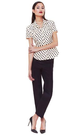 Polka Dot Blouse by ROCHAS Now Available on Moda Operandi