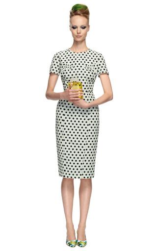 Polka Dot Sheath Dress by ROCHAS Now Available on Moda Operandi