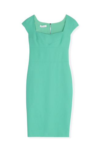 Medium narciso rodriguez blue cap sleeve dress