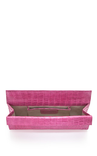 Foldover Clutch by NANCY GONZALEZ Now Available on Moda Operandi