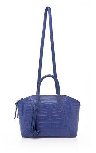 Tassel Dome Bag by NANCY GONZALEZ Now Available on Moda Operandi
