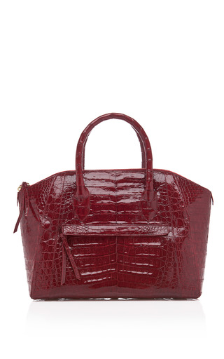Medium nancy gonzalez red tassel dome bag 2